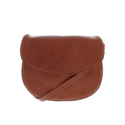 Carl Scarpa Rosita Tan Leather Bag