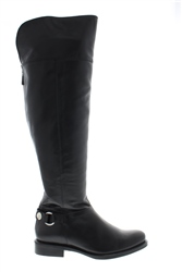 Carl Scarpa Alexia Black Knee-High Boots