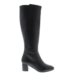Carl Scarpa Camila Black Leather Boots