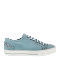 Carl Scarpa Carlotta Blue Lace Up Trainers