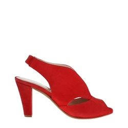 Carl Scarpa Delia Red High Heel Courts