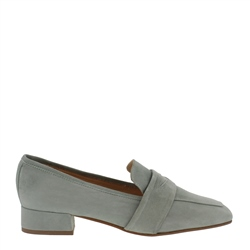 Carl Scarpa Ginevra Mint Suede Loafers