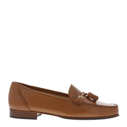 Carl Scarpa Frida Tan Loafers