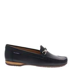 Carl Scarpa Helga Navy Loafers