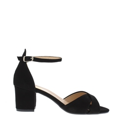 Carl Scarpa Faustina Black Sandals