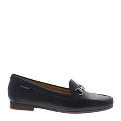 Carl Scarpa Herlinda Navy Loafers