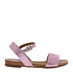 Carl Scarpa Tianna Metallic Pink Sandals