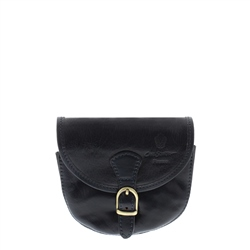 Carl Scarpa Sienna Navy Leather Bag