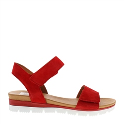 Carl Scarpa Tilly Red Sandals