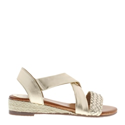 Carl Scarpa Wendy Gold Sandals