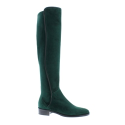Emma Green Suede Knee-High Boots