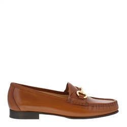 Carl Scarpa Finelle Tan Leather Loafers