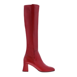 Carl Scarpa Jill Red Leather Boots