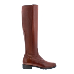 Carl Scarpa Lara Tan Leather Knee-High Boots