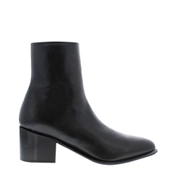 Carl Scarpa Mezara Black Leather Ankle Boots