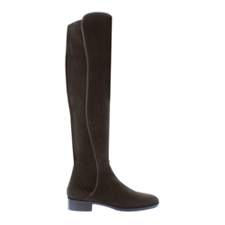 Carl Scarpa Emma Brown Suede Knee-High Boots