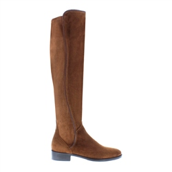 Carl Scarpa Emma Tan Suede Knee-High Boots