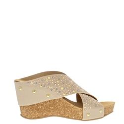 0fa05f4b9be4 Carl Scarpa Donella Beige Wedge Sandals