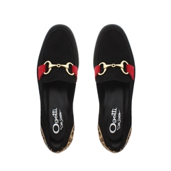 Sabana Black Suede Loafers