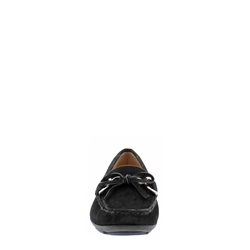 Harper Black Suede Loafers