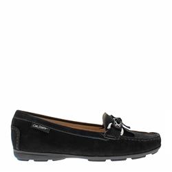 Carl Scarpa Harper Black Suede Loafers
