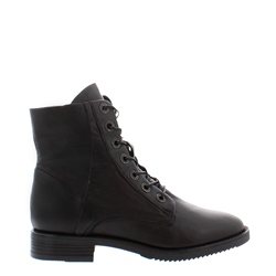 Carl Scarpa Arizona Black Leather Ankle Boots