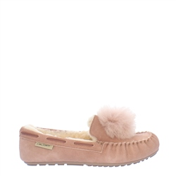 Carl Scarpa Bliss Rose Moccasin Slippers