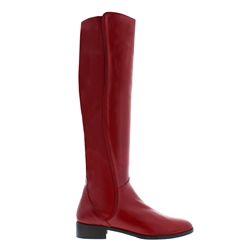 Carl Scarpa Emma Red Leather Boots