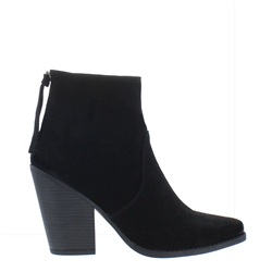 Carl Scarpa Anita Black Suede Ankle Boots