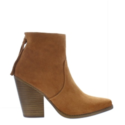 Carl Scarpa Anita Tan Suede Ankle Boots