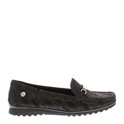 Carl Scarpa Ida Black Loafers