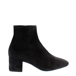 Carl Scarpa Judy Black Suede Ankle Boots