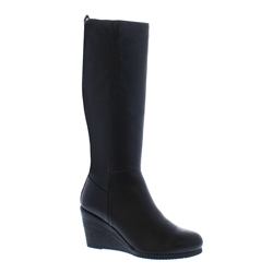 Angelina Wedge Knee High Boots