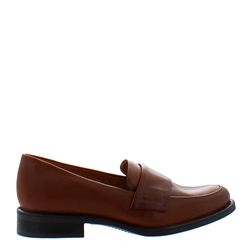 Carl Scarpa Poppy Flat Tan Loafers