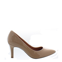 Carl Scarpa Quorra Beige Court Shoes