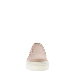 Petra Rose Leather Trainers