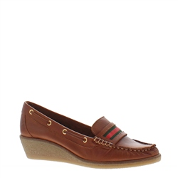 Remi Brandy Leather Loafers