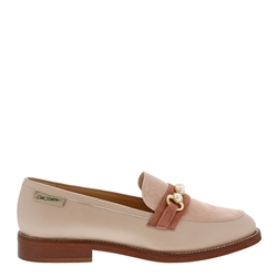 Carl Scarpa Lolita Rose Leather Loafers