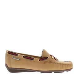 Carl Scarpa Faris Beige Slip-on Loafers