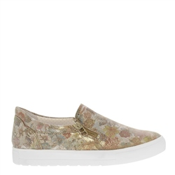 Carl Scarpa Orsa Floral Print Slip-On Trainers