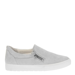Carl Scarpa Orsa Ice White Slip-On Trainers