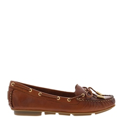 Rochelle Brandy Leather Loafers