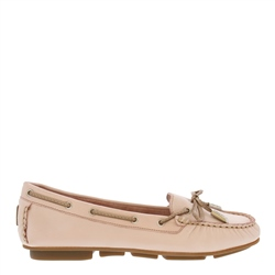 Carl Scarpa Rochelle Rose Leather Loafers