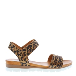 Carl Scarpa Tilly Leopard Print Sandals