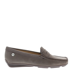 Carl Scarpa Bettina Dark Taupe Loafers