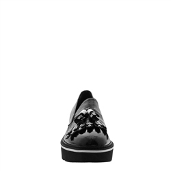 Neroli Black Patent Leather Loafers
