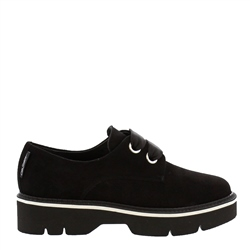 Carl Scarpa Nevada Black Suede Shoes