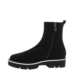 Malvina Black Ankle Boots