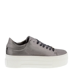 Carl Scarpa Polina Chrome Leather Trainers