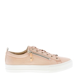 Carl Scarpa Raelynn Rose Leather Trainers